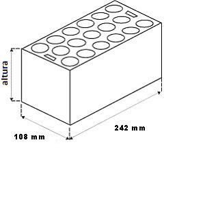 Ladrillo cerámico ( Tosco)